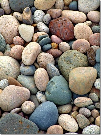 Beach Stones Diversity Zen