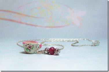 Teacup Necklace Swank