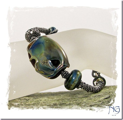 Brac_MeltedGlassSSBangle_2